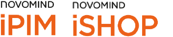 Logos novomind iPIM and novimind iSHOP